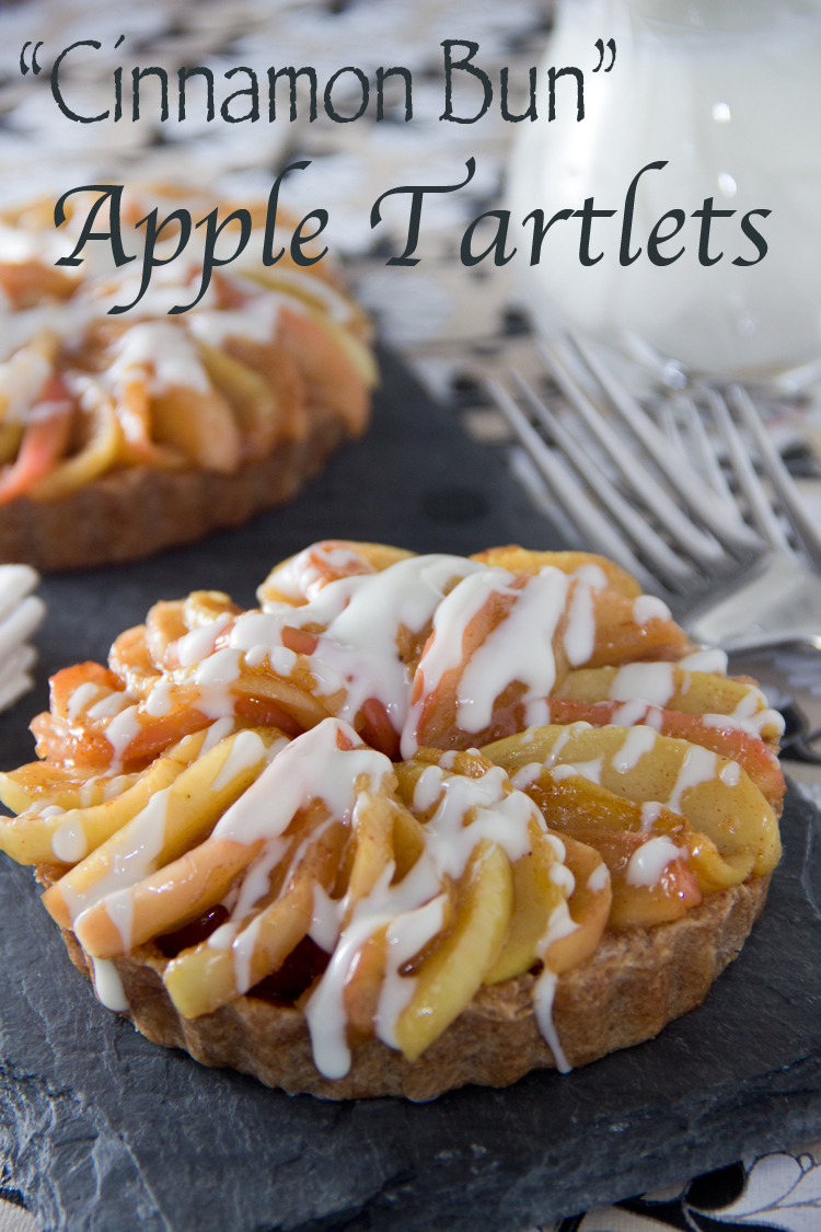 Skinny-'Cinnamon-Bun'-Apple-Tartlet