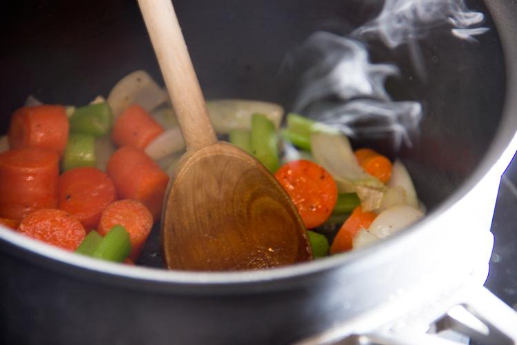 sauteeing-veggies