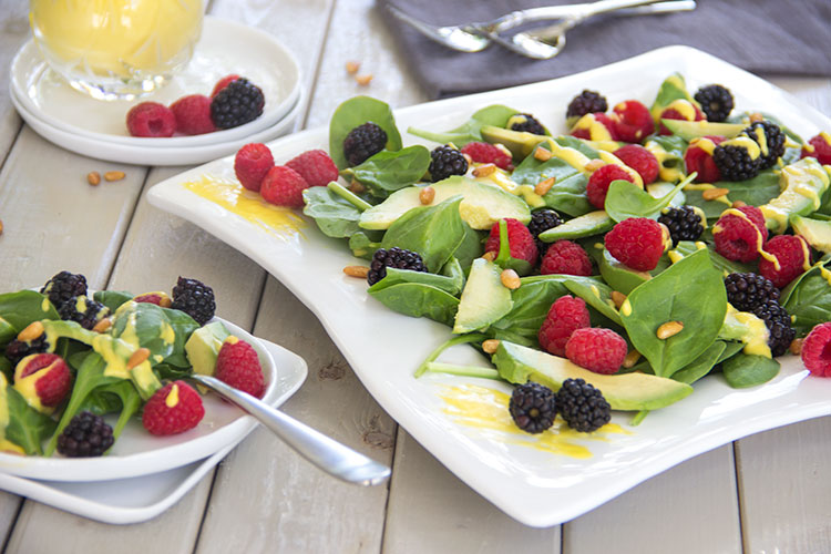 Anti-Aging-Avocado-Berry-Salad-with-Mango-Vinaigrette