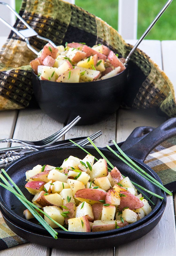 Easy-and-Grilled-Chive-Oil-Potatoes