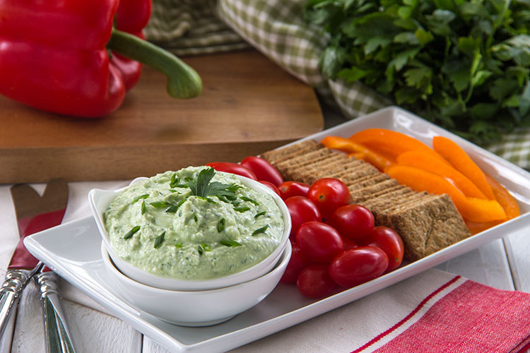 Whipped-Feta-and-Herb-Dip