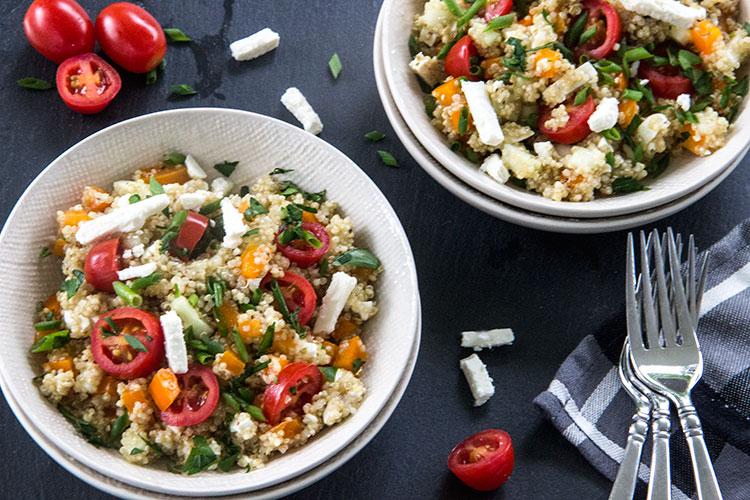 Feta-Tomato-Quinoa-Salad