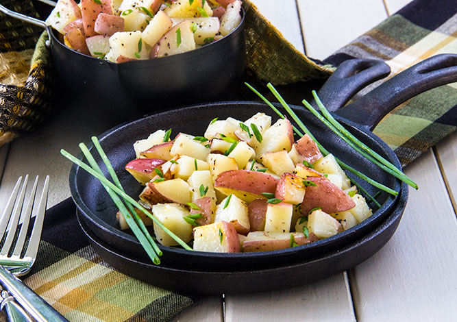 Easy-Grilled-Chive-Oil-Potato-Packets