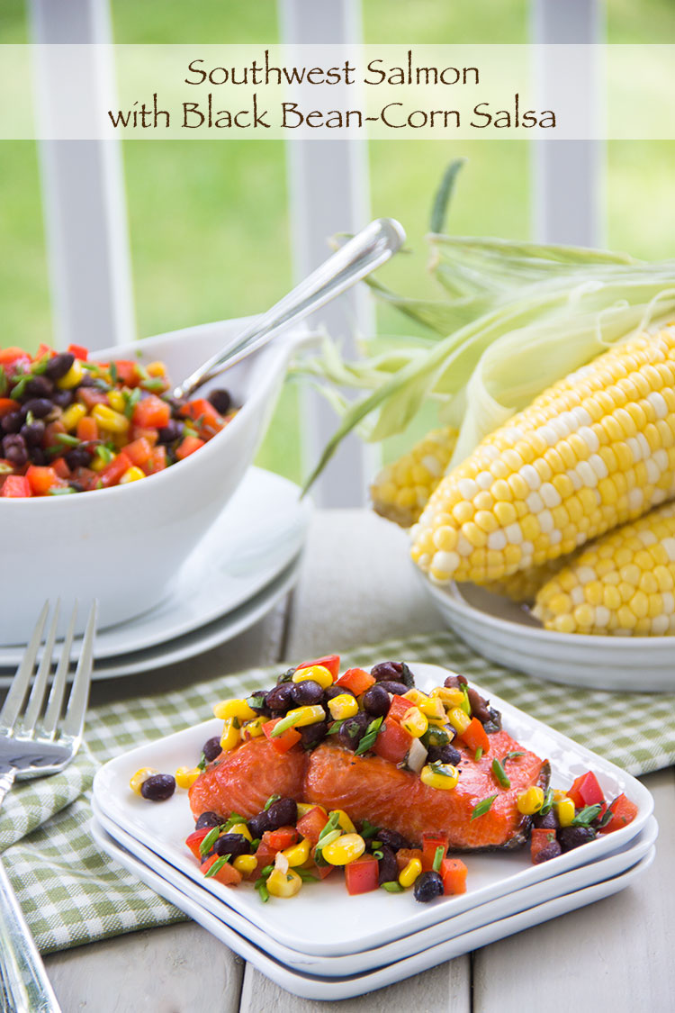 Healthy-Salmon-with-Black-Bean-Corn-Salsa