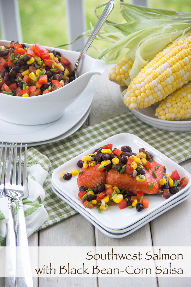 Healthy-Southwest-Salmon-with-Black-Bean-Corn-Salsa