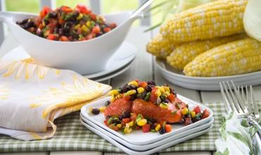 Southwest-Salmon-with-Black-Bean-Corn-Salsa