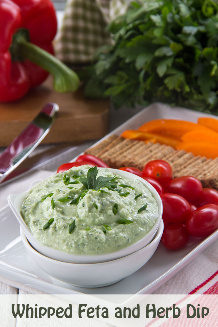 Healthy-Whipped-Feta-and-Herb-Dip