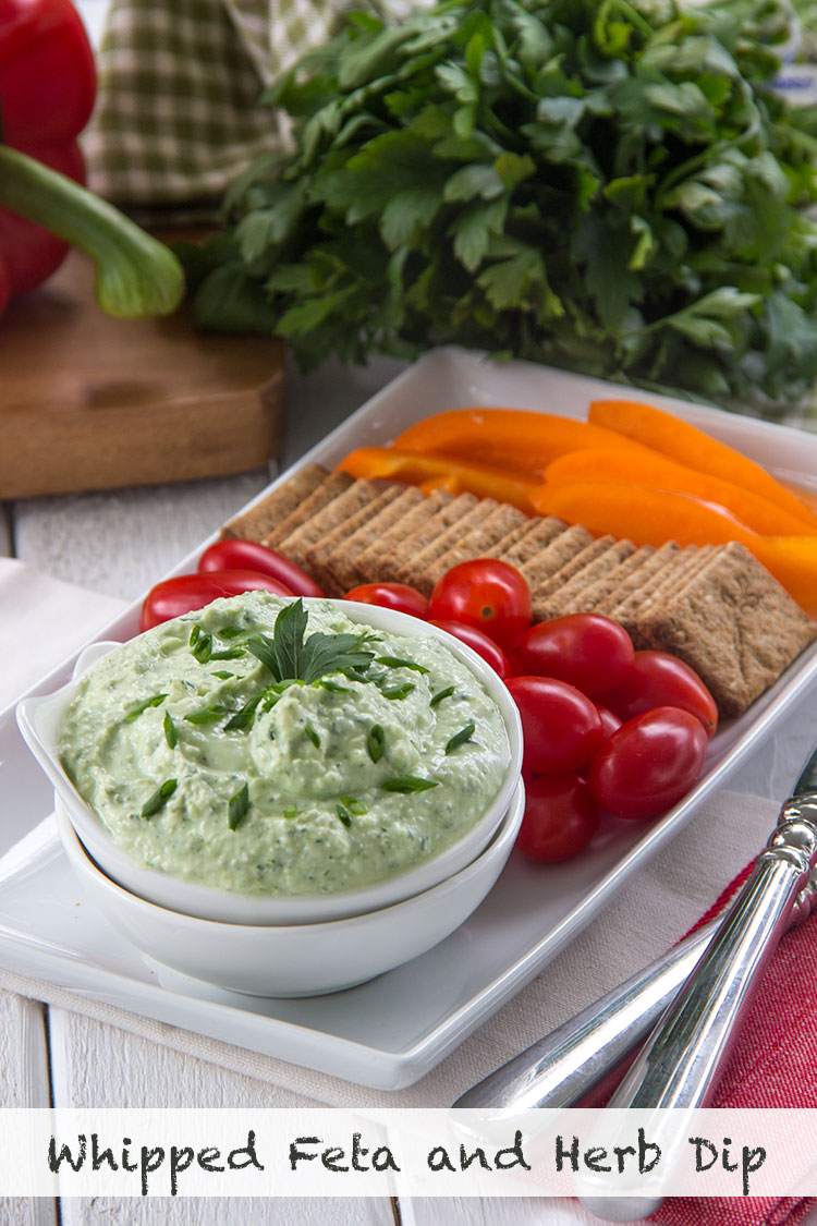 Healthy-Whipped-Feta-and-Herb-Spread