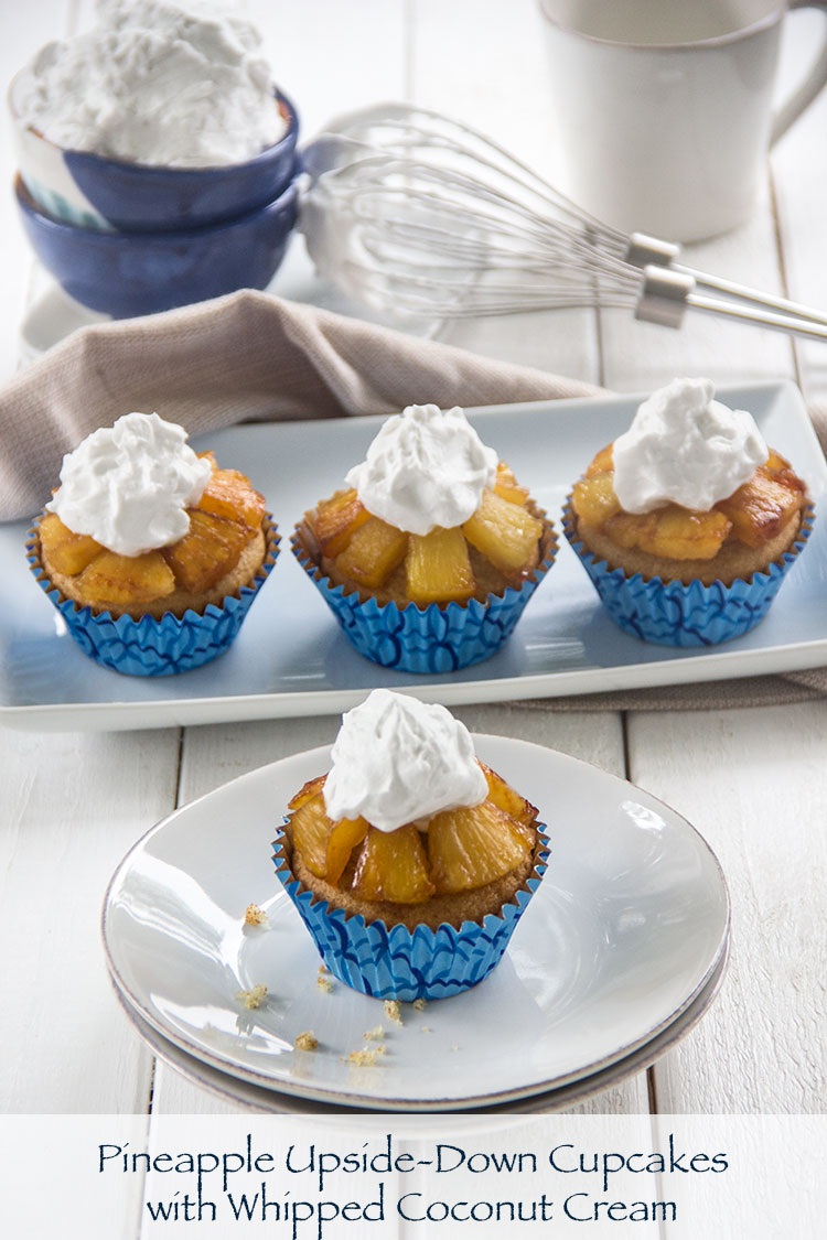 Pineapple-Cupcakes-with-Whipped-Coconut-Cream