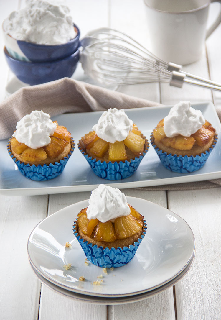 Pineapple-Upside-Down-Cupcakes-with-Coconut