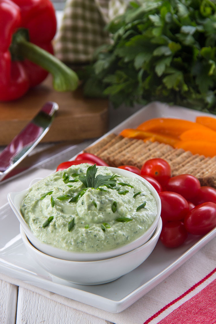 Whipped-Feta-Herb-Spread