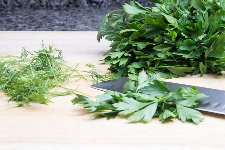 chopping-parsley-and-dill