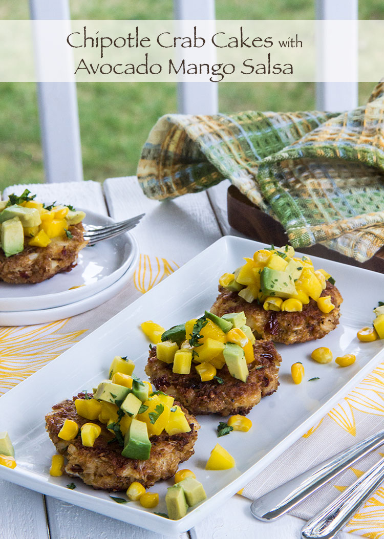 Chipotle-Crab-Cake-with-Avocado-Mango-Salsa