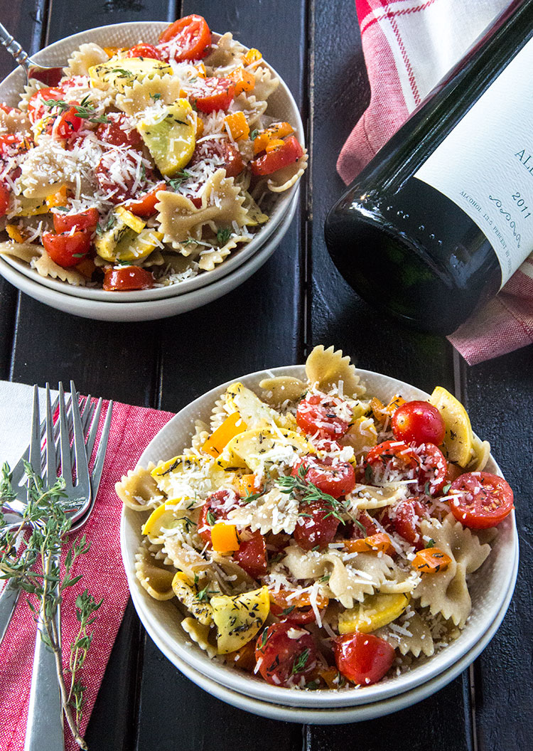Grilled-Veggie-Pasta-with-White-Wine-and-Parmesan