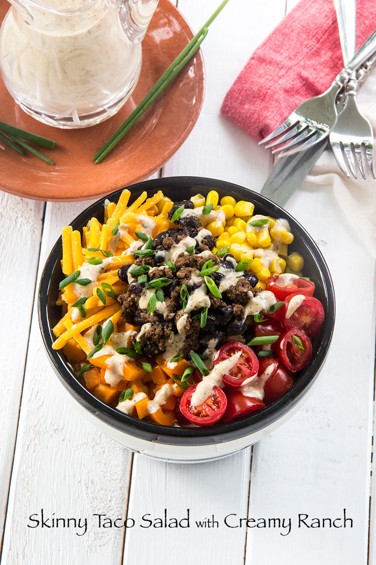 Skinny-Taco-Salad-with-Creamy-Ranch