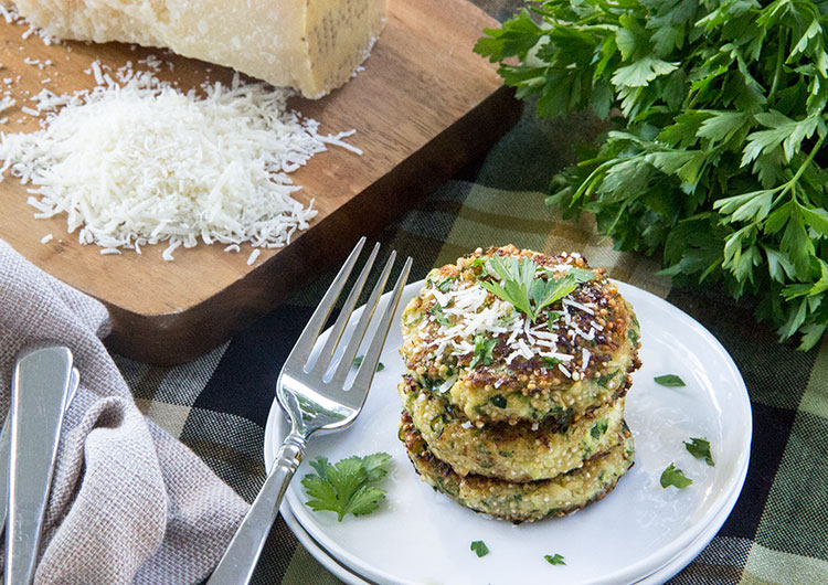 Zucchini-Quinoa-Fritters-with-Parmesan