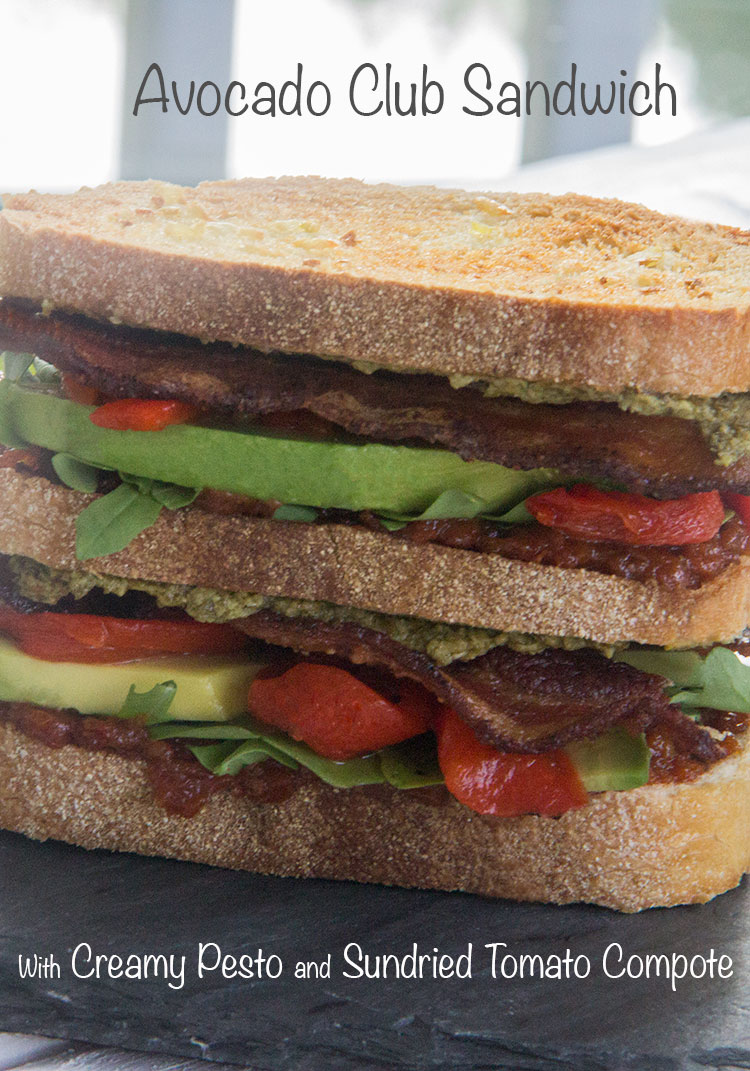 Avocado-Club-Sandwich-with-Creamy-Pesto-and-Sundried-Tomato-Compote