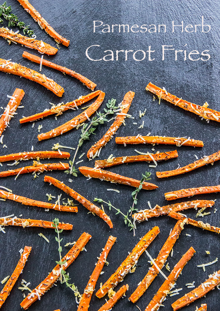 Parmesan-and-Herb-Carrot-Fries