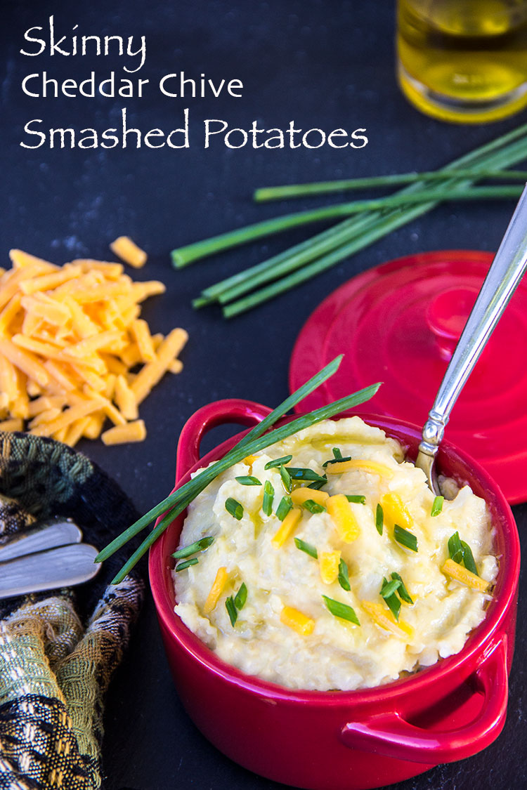 Skinny-Cheddar-and-Chive-Smashed-Potatoes