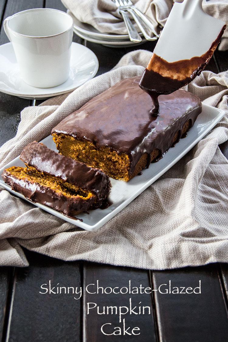Skinny-Chocolate-Glaze-Pumpkin-Cake