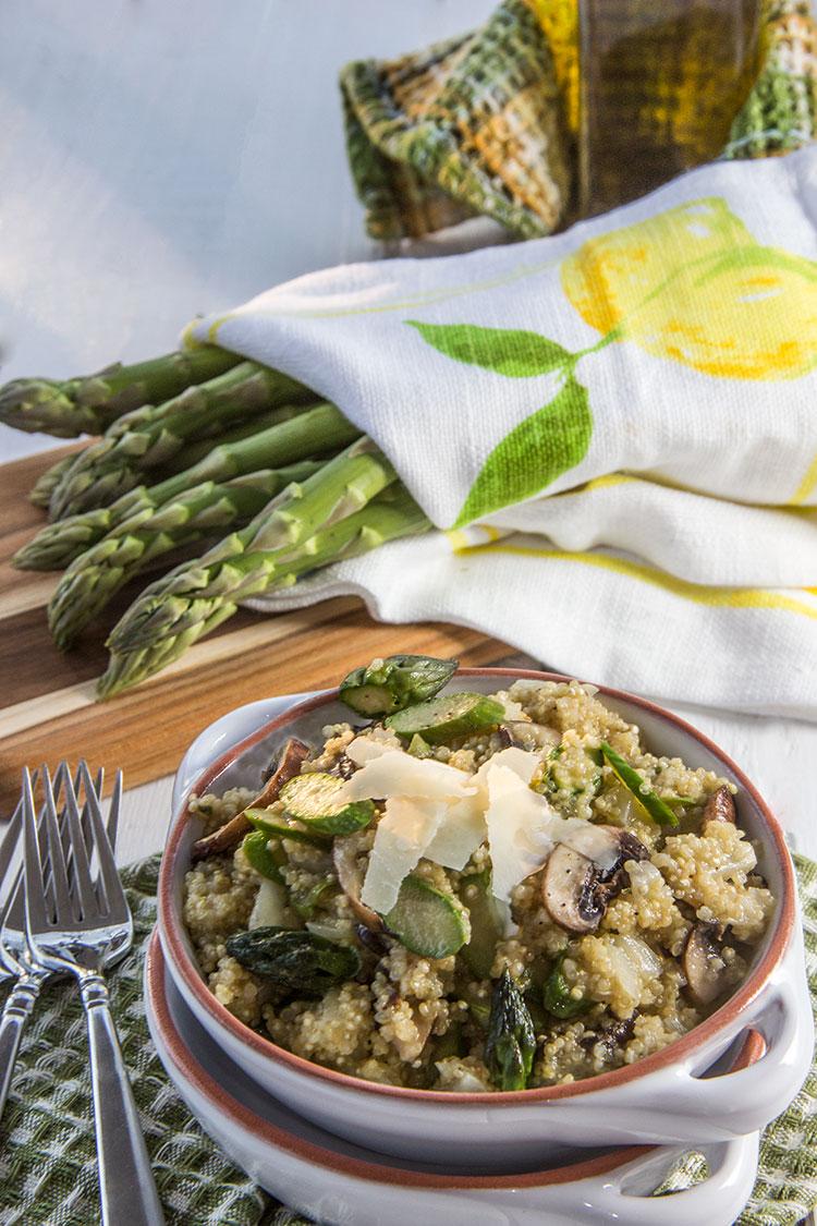 Asparagus-Parmesan-Quinoa