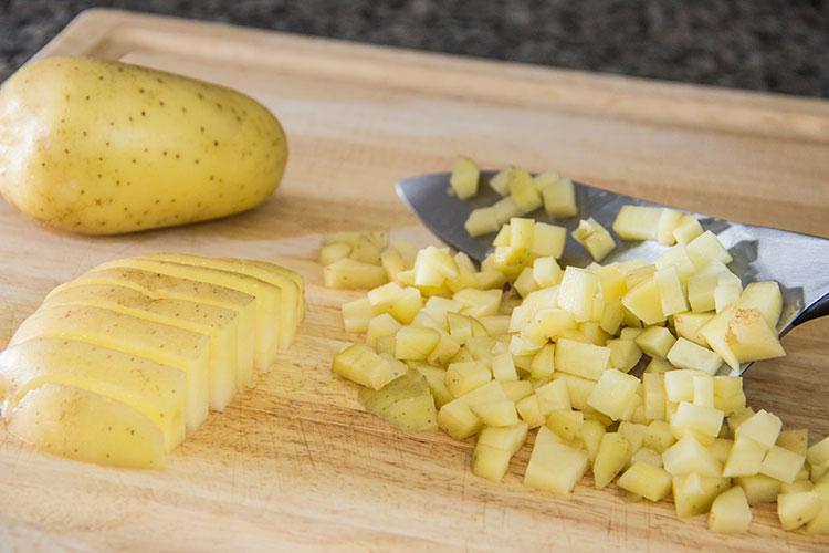 dicing-potato