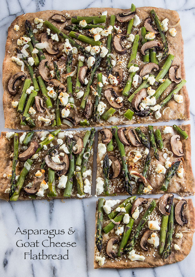 Asparagus-and-Goat-Cheese-Flatbread