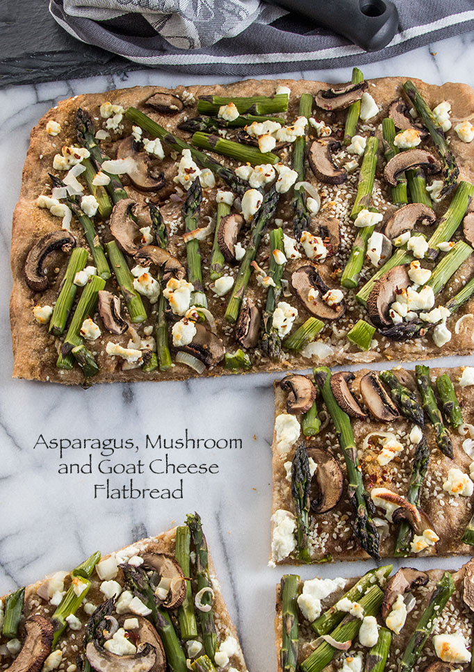 Goat-Cheese-Asparagus-Flatbread