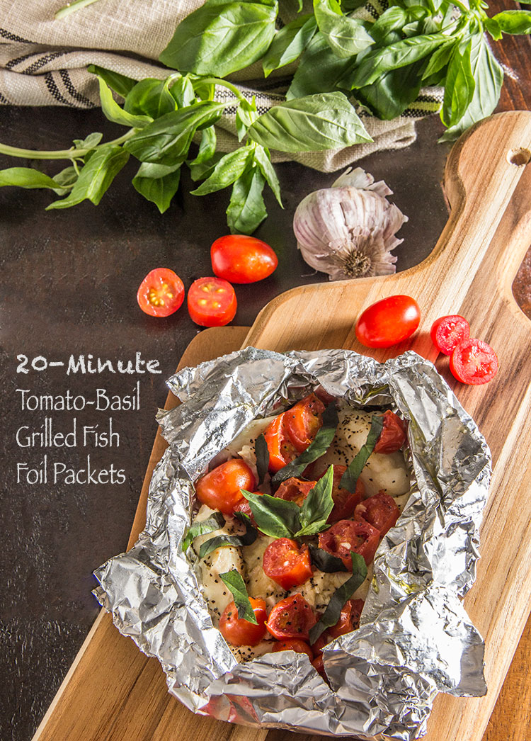 Easy-Tomato-Basil-Grilled-Fish-Foil-Packets