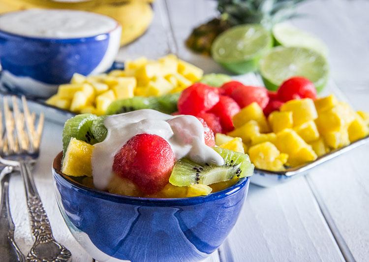 Tropical-Fruit-Salad-with-Coconut-Cream-Vegan