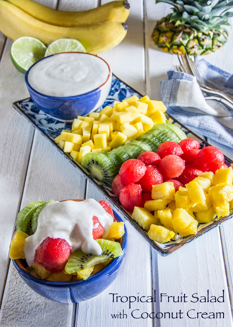 Tropical-Fruit-Salad-with-Vegan-Coconut-Cream