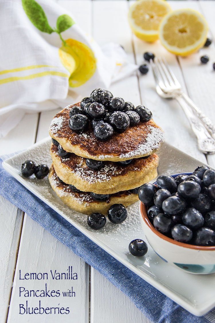 Vanilla-Lemon-Pancakes-with-Fresh-Blueberries