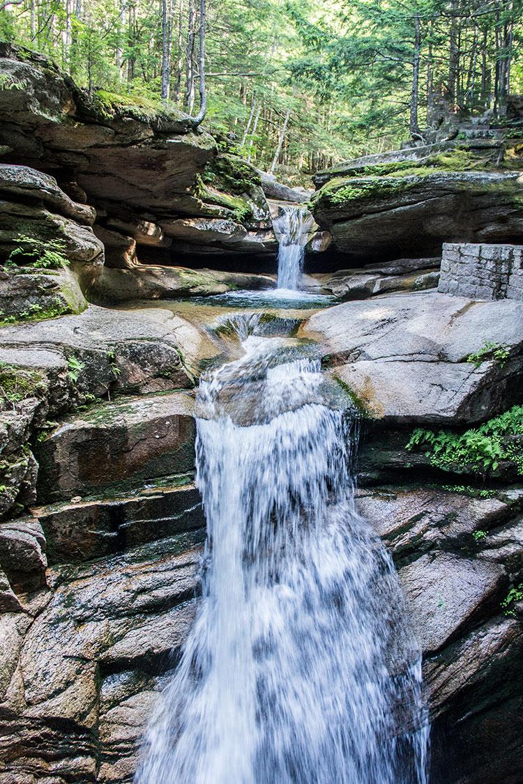 White-Mountains-waterfall