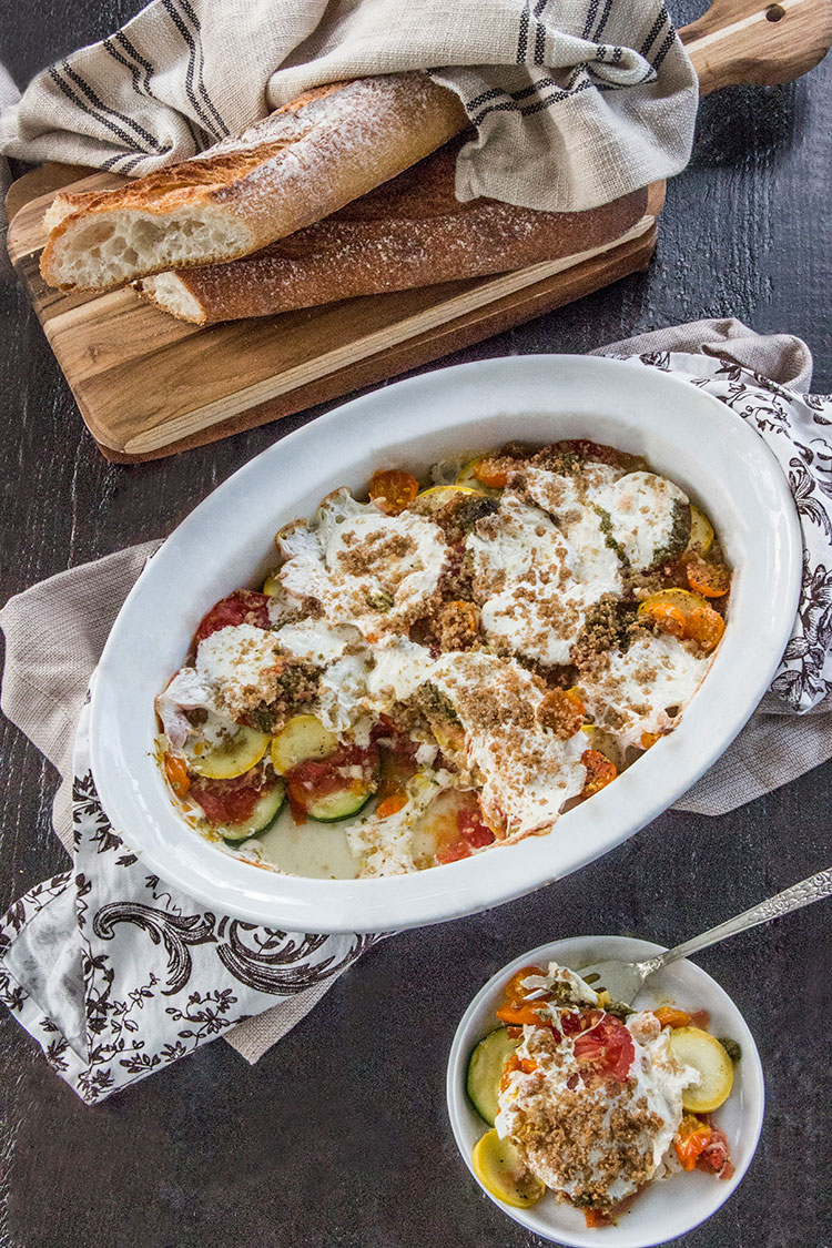 Baked-Squash-and-Tomato-Gratin