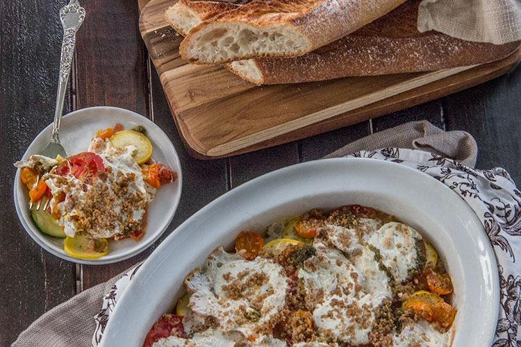 Easy-Baked-Tomato-Squash-Gratin