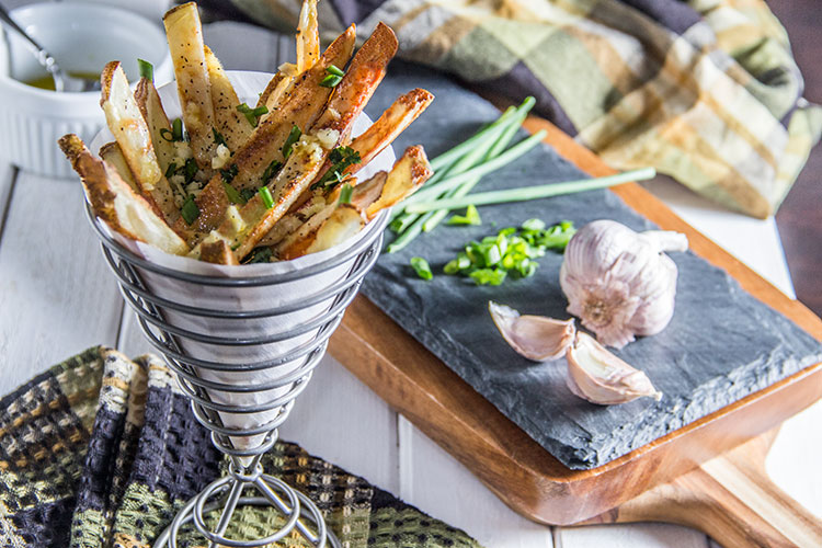 Garlic-and-Herb-Baked-Fries