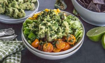 Southwest-Guacamole-Chopped-Chicken-Salad
