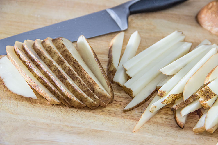 slicing-potato-fries