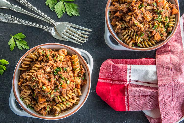 Meatless-Chickpea-Ragu-Pasta