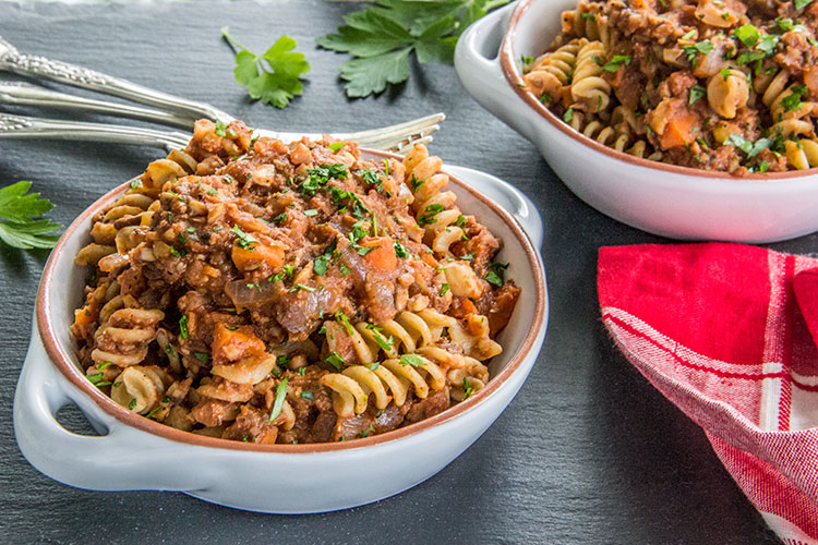 Pasta-with-Meatless-Chickpea-Ragu