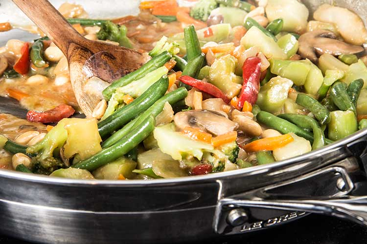 stir-frying-vegetables