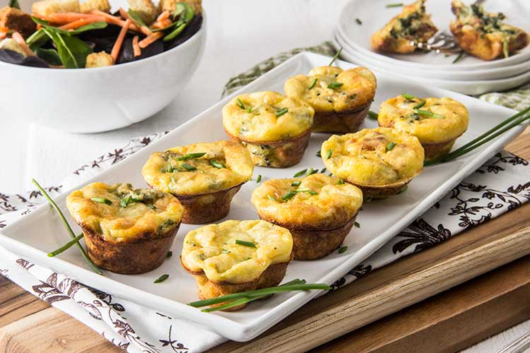 Cheesy-Artichoke-Spinach-Frittata-Minis