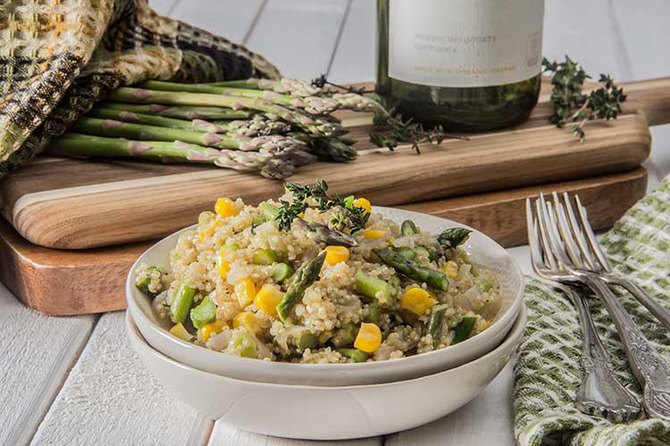 Parmesan-Herb-Quinoa-Risotto