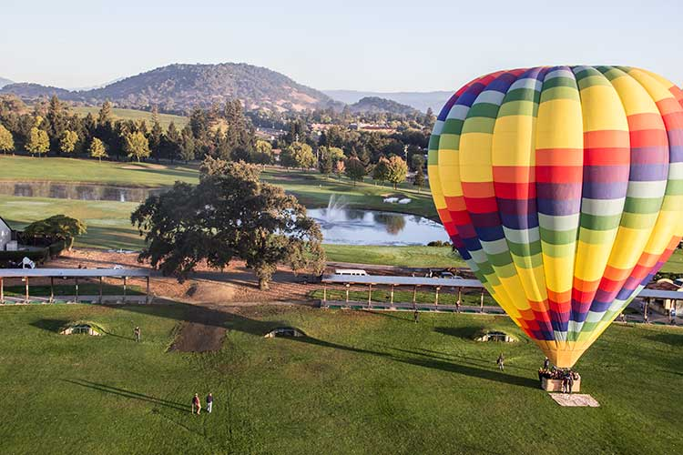 Napa-Valley-Hot-Air-Balloon-On-Ground