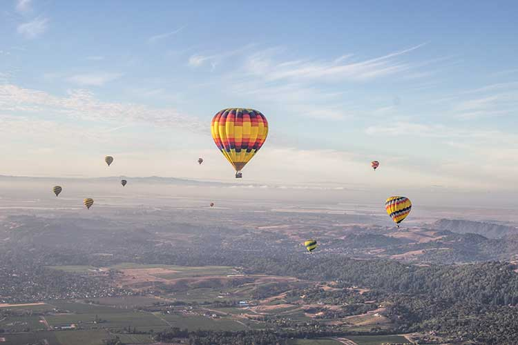 Napa-Valley-Many-Hot-Air-Ballons