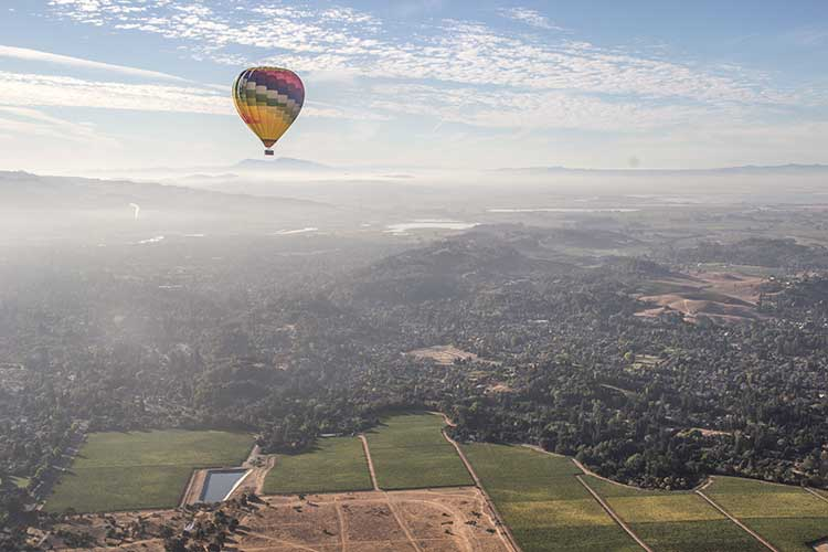 Napa-Valley-Vacation-One-Hot-Air-Balloon
