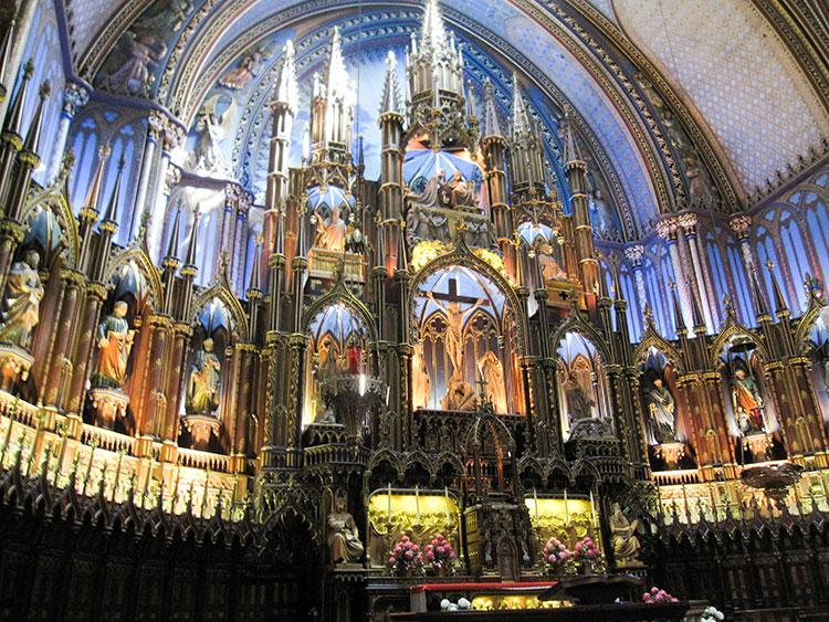 Notre-Dame-Basilica-Altar