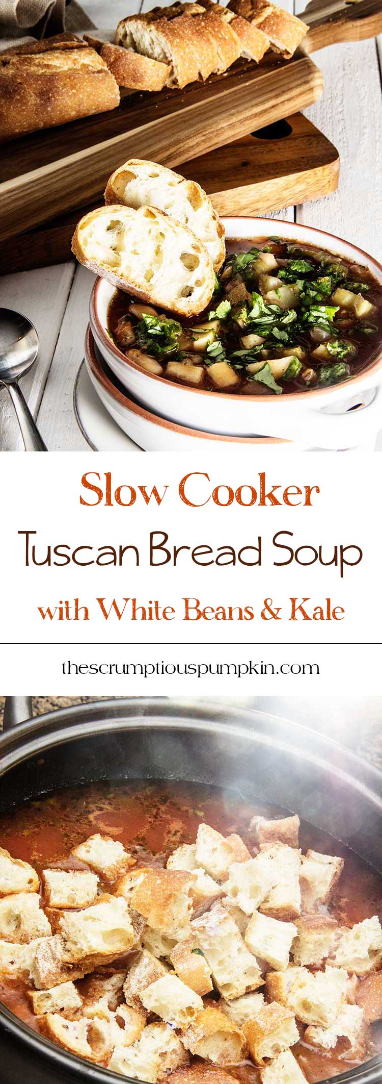 Slow-Cooker-Tuscan-Bread-Soup-with-Kale-and-White-Beans
