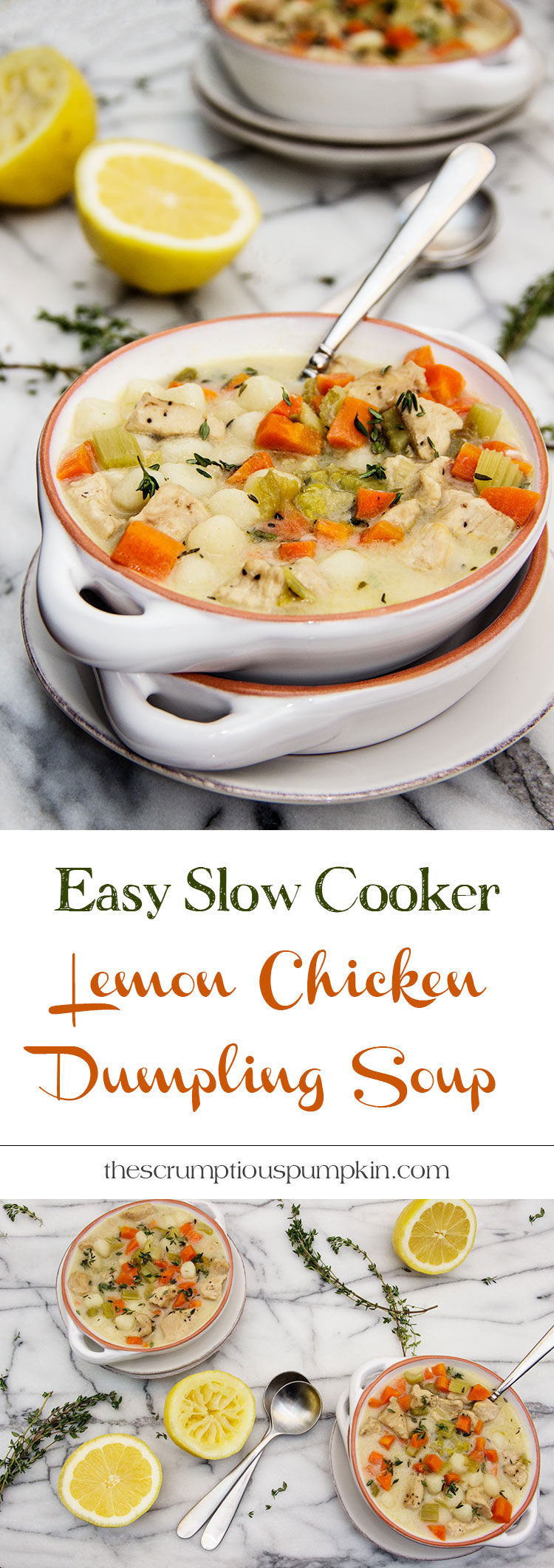 Easy-Slow-Cooker-Creamy-Lemon-Chicken-Dumpling-Soup