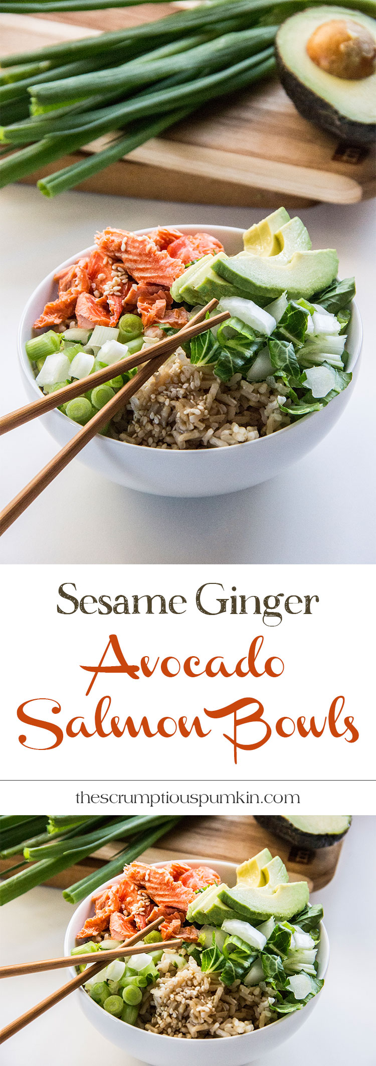 Sesame-Ginger-Avocado-Salmon-Bowl
